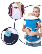 Dabzee Baby Kangaroo Carrier- Mint Blue