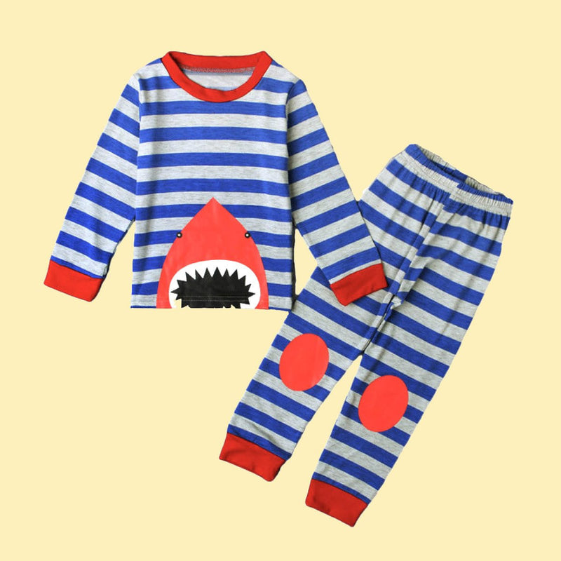 No Wake Zone  Pajama Set
