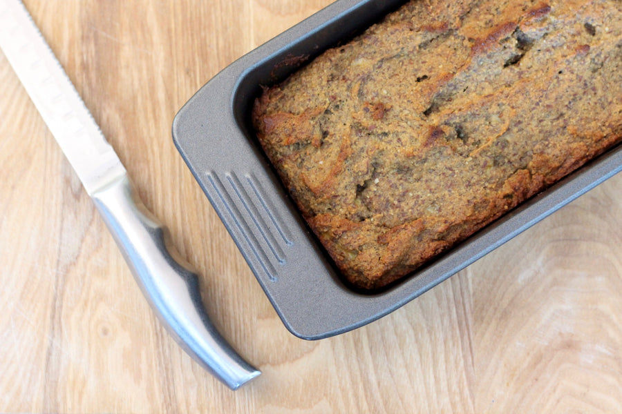 Naturally Sweetened, Gluten & Dairy Free Banana Bread