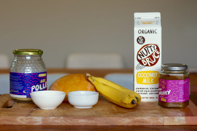 Bee Pollen Banana Smoothie