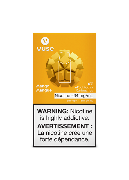 # VUSE - VYPE ePod  Cartridges