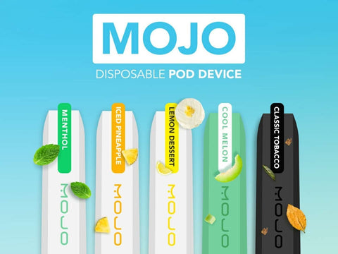 MOJO 1.2ML Prefilled Disposable Salt Nicotine
