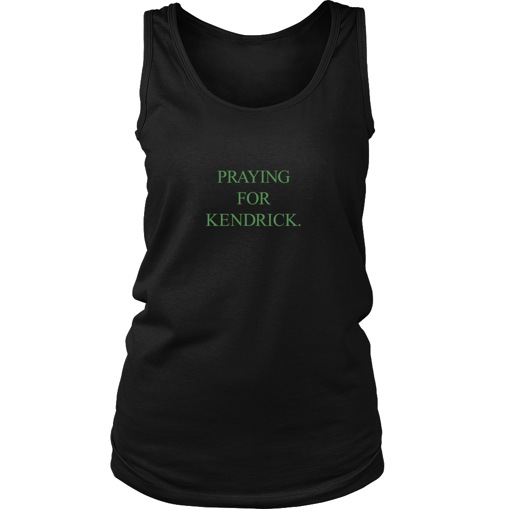 Praying For Kendrick Medium Size Print Black