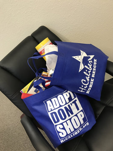 ADOPT! Don't Shop Reusable Shopping bags