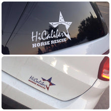 HiCaliber Bumper Sticker or Decal!
