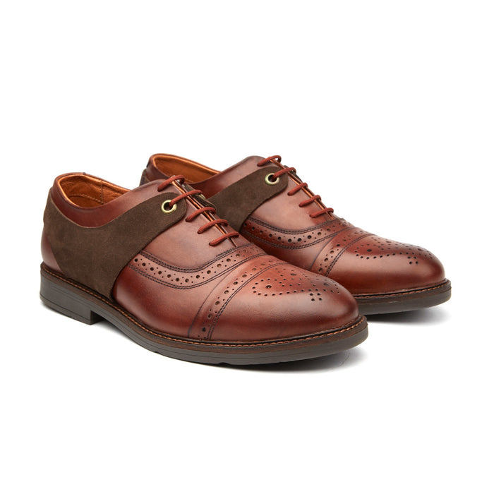 HARNESS BROGUE | BROWN