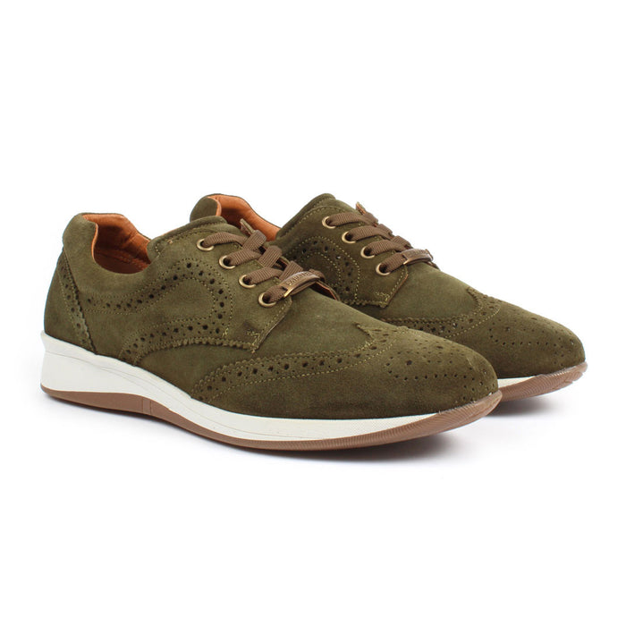 E-1504 | Modern Dress Shoe | Army Green