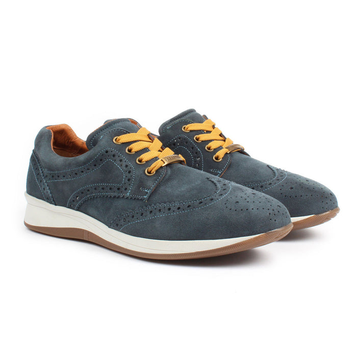 E-1504 | Modern Dress Shoe | Nubuck Navy