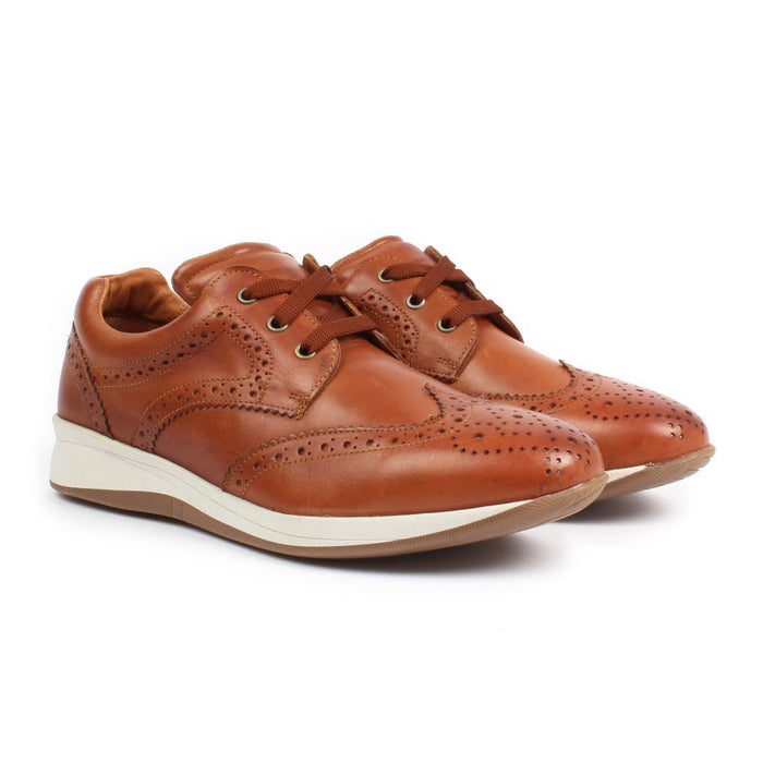 E-1504 | Modern Dress Shoe | Tan