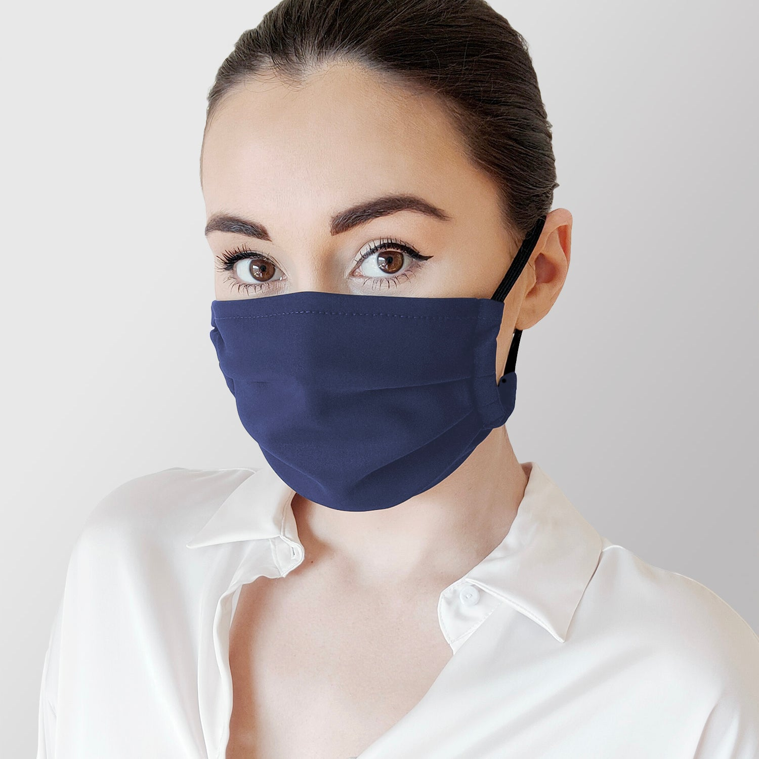 Face Mask in Molitor Blue (3 Pack)