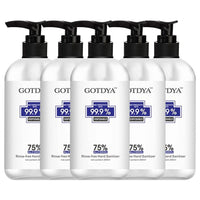 36PCS Of GOTDYA 300ml Wash Free Hand Alcohol Spray Gel Hand Sanitizer with 75% Alcohol