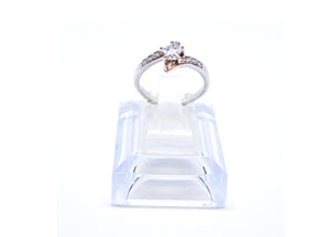 Wedding style beauty ring