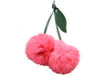 Double fluffy Key chain
