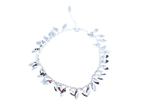 Silver Color leaves Anklet