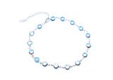 Light Blue Stones Anklet