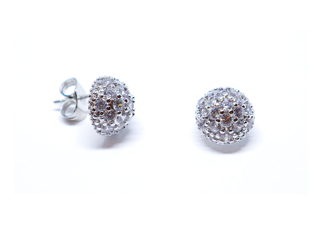 Half ball Earrings