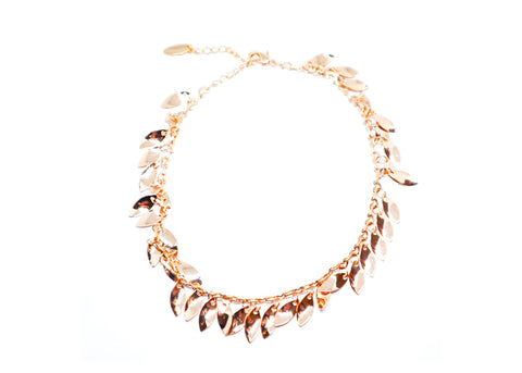 Golden Leaves Anklet