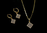 Golden Studded Set