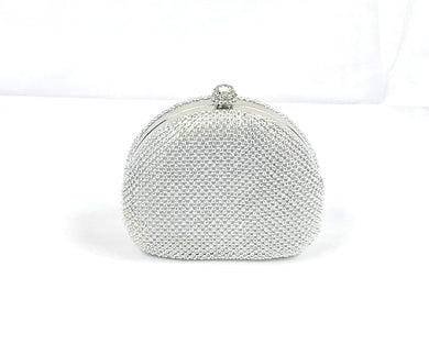 Silver Studded Purse