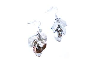 4 Leafs Droop Earrings
