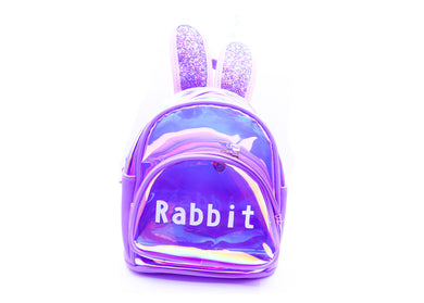 Dark Purple Rabbit Mini Backpack