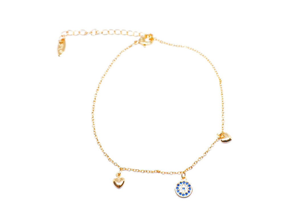 3 Charms Anklet
