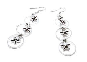 Stars Droop Earrings