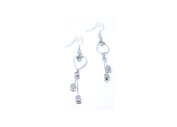 Cubes Droop Earrings