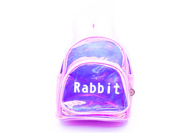 Pink Rabbit Mini Backpack