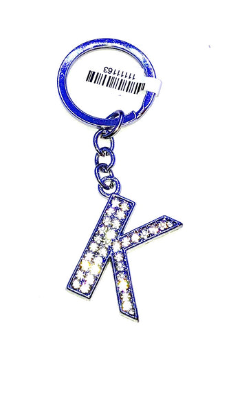 letter key chain  A,B.C.D....  Stud Letters Key Chain  Ole