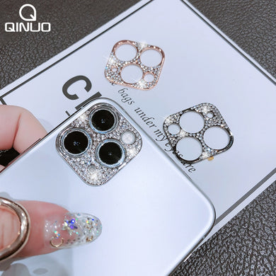 Diamonds Camera Lens Protector For iPhone 12 11 Pro Max