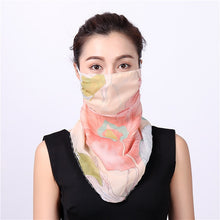 Face Silk Scarf and  Bandana