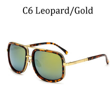 Square Luxury Tony Stark Style For Women And Men Sunglasses