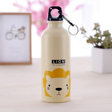 Kids Travel Water Bottle With Cute Cartoons