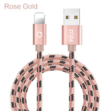 PZOZ Usb Cable For iphone cable 11 12 pro max Xs Xr X SE 8 7 6 plus 6s 5s ipad air mini 4 fast charging cable For iphone charger