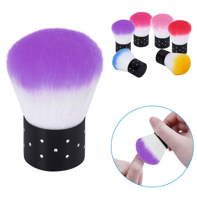 Nail Cleaning Brush Nail Brush Nail Art Manicure Tools Nail Dust Cleaner For Acrylic