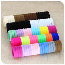 40 Pc Girl elastic ponytail Rubber hair bands