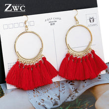 Bohemian Tassel Vintage Drop Earrings