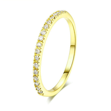 Classical Yellow-Gold Color Wedding Ring For Women and Men