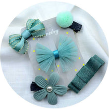 5PCS/set Baby Bow Hair Clip
