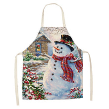 Christmas Decoration Sleeveless Cotton Apron