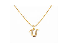 Golden Letters Necklace