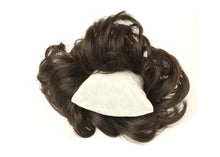Comb-medium Brown  Donut Elastic Chignons Ponytail Hairpiece Extension