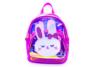 Purple Hello Katy Mini Backpack