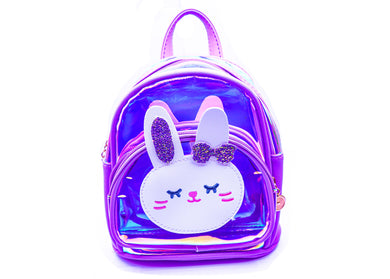 Dark Purple Hello Katy Mini Backpack