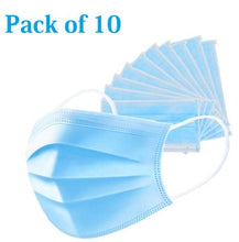 Comfortable fit! With soft elastic ear loops and breathable fabric, these masks help to block dust & air pollution. Made for business and personal care applications, this mask intended for use by the general public and healthcare personnel.  10 masks per package.  Disposable masks