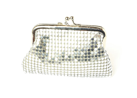 Silver Fashion Coin Bag