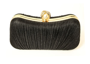 Black Fabric Purse
