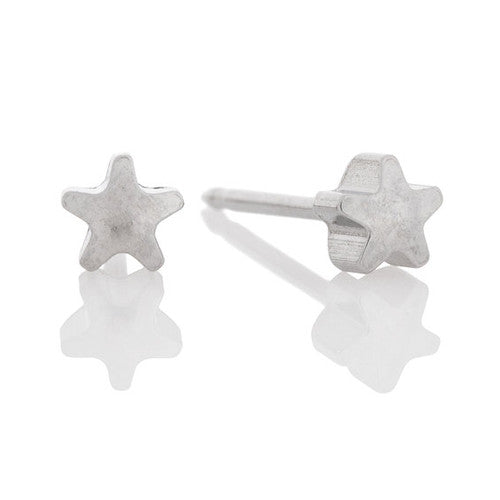 Ear Piercing Stainless steel star