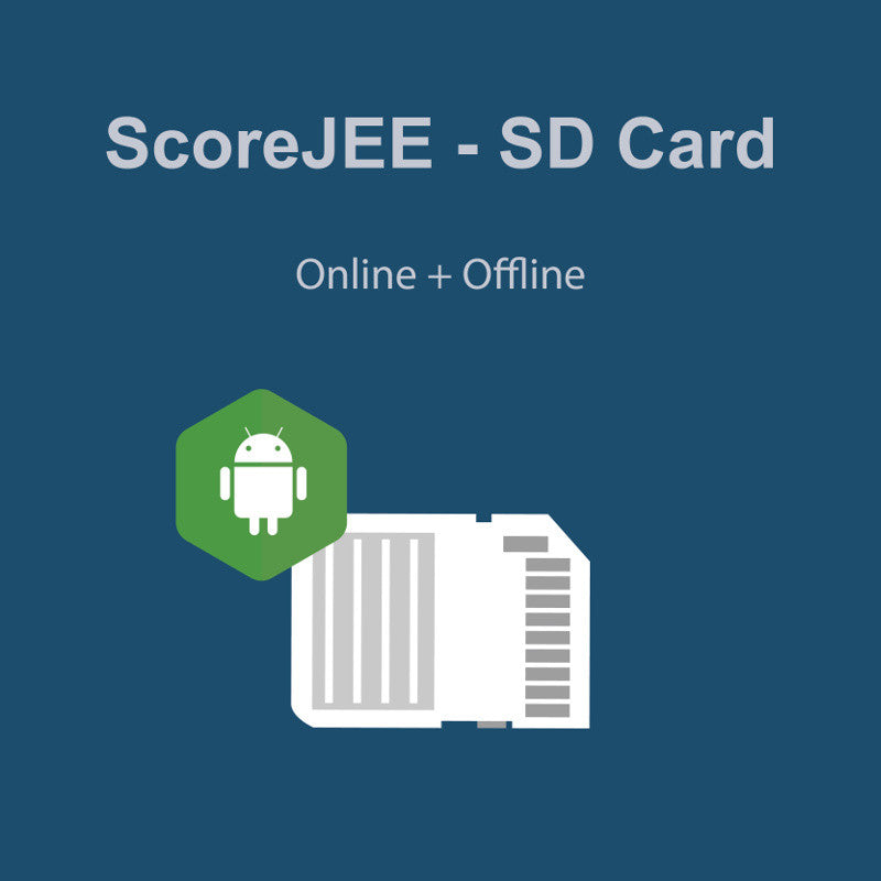 ScoreJEE SD Card (Online + Offline Access) (For Android devices)